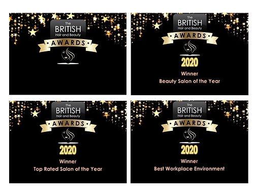 Bliss Beauty Keyworth 2020 Awards