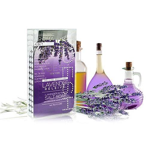 VOESH Pedi in a Box 4 Step - Lavender Relieve