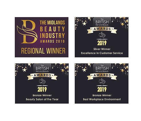 Bliss Beauty Keyworth 2019 Awards