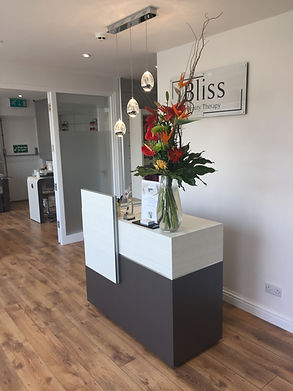 Our Reception At Bliss Beauty Keyworth