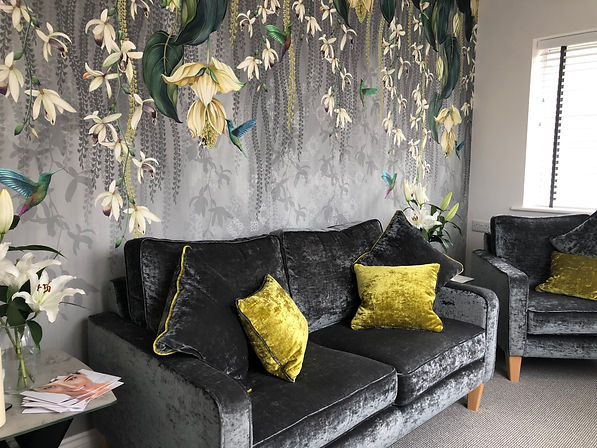 Relaxation Lounge At Bliss Beauty Keyworth