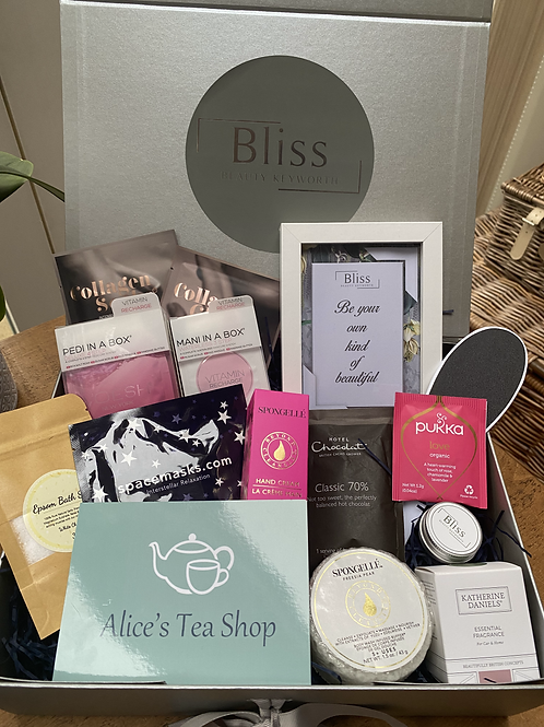 Bliss Spa and Afternoon Tea Gift Box