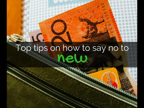 Top Tips On How To Say No To New