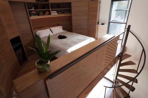 Bedroom-Silo House-Kristoph Kaiser