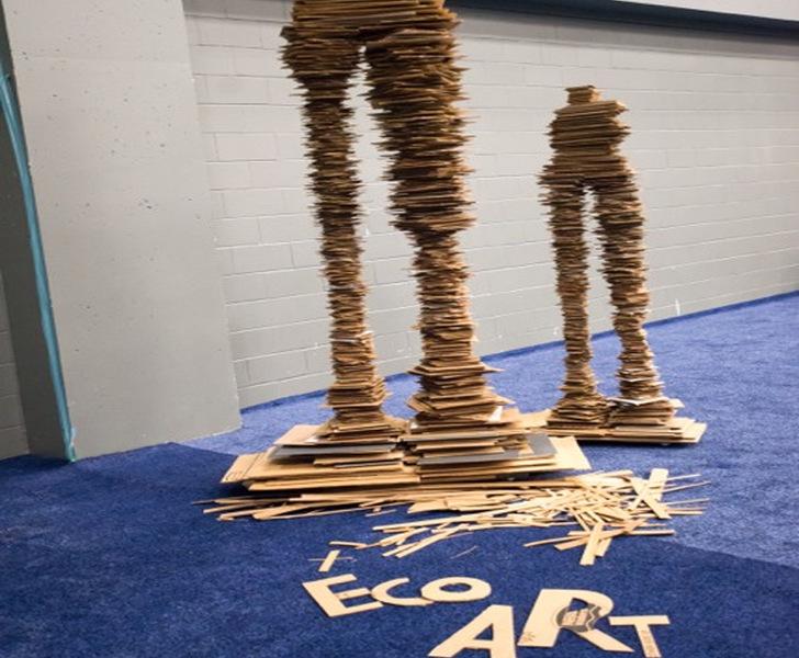 George Sabra-Reused cardboard figures