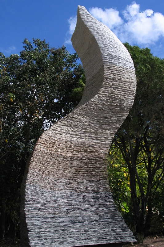 George Sabra the-Flame sculpture