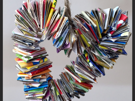 Follow The Journey Of An Upcycled Heart: from festive joy to everyday living