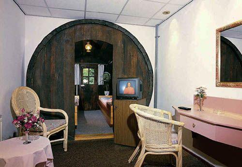 Barrel hotel-interior-De Vrouwe van Stavoren Hotel