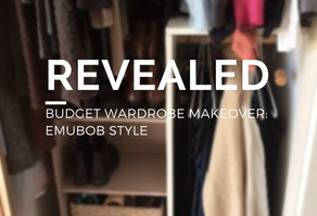REVEALED: Budget Wardrobe Makeover