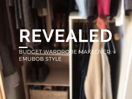 REVEALED: Budget Wardrobe Makeover