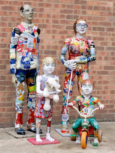 Michelle Reader-Recycled Family Portrait