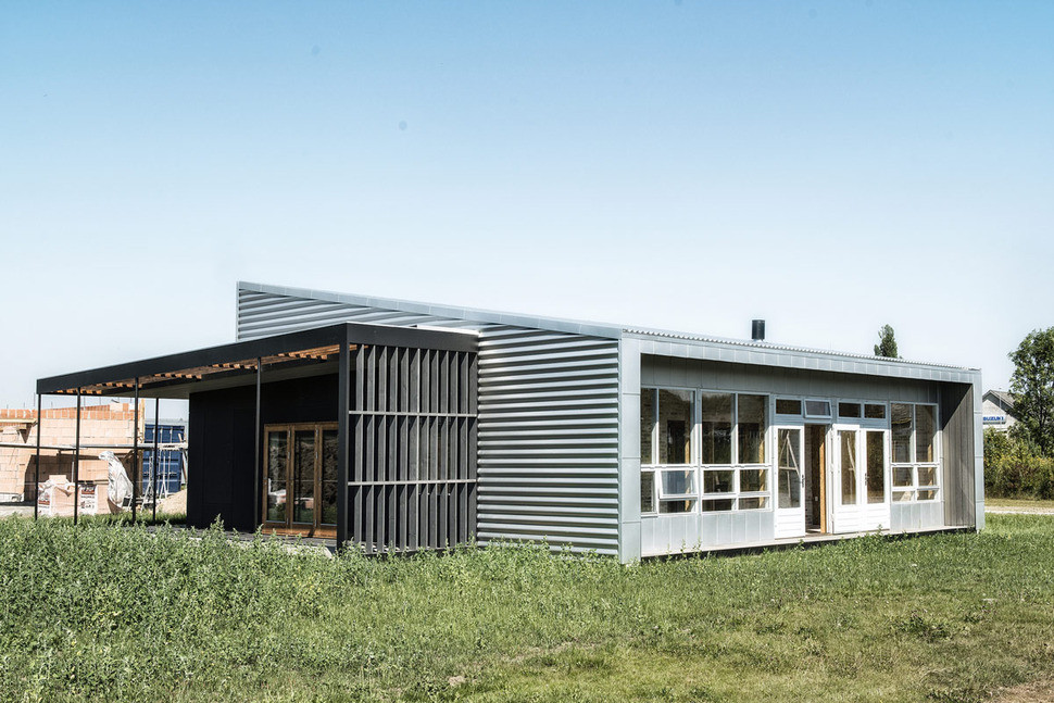 Upcycle House exterior