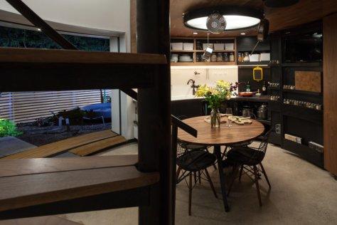 Kitchen-Silo House-Kristoph Kaiser
