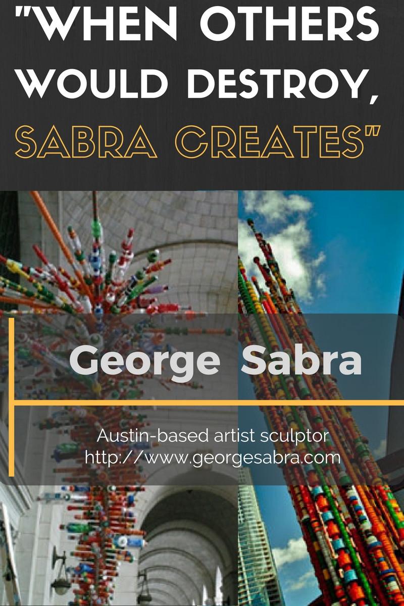 George Sabra - artist sculptor