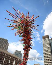 George Sabra-Plastic Storm Sculpture
