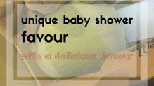 Unique Baby Shower Favour With A Delicious Flavour