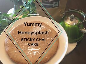 Yummy Honeysplash Sticky Chai Cake