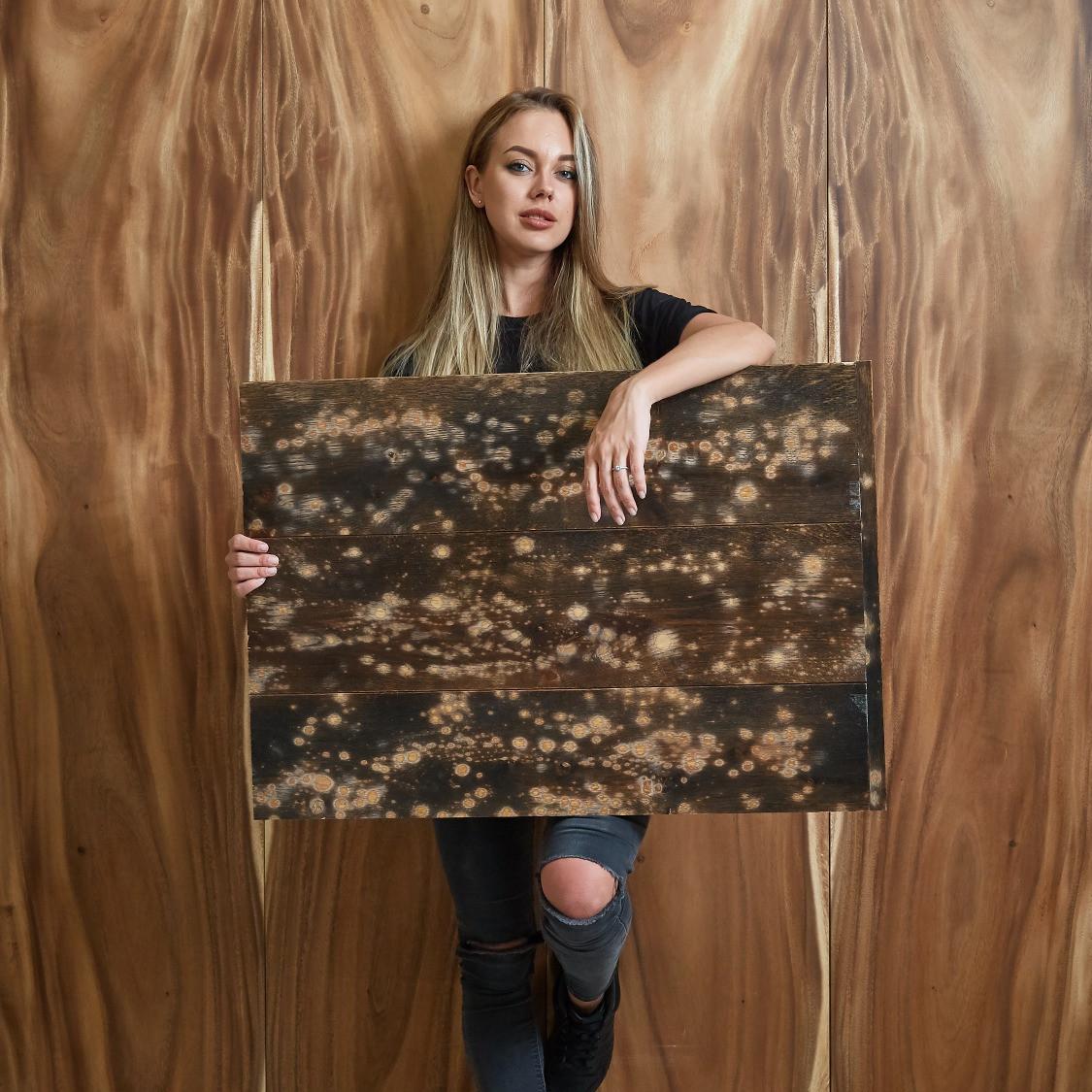 Дуб Галактика, TOUCH wood