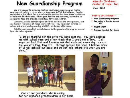 New Guardianship Program at MCCH
