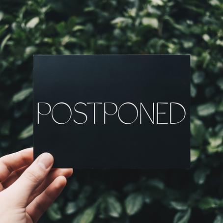 See You In September: Building Hope Dinners Postponed