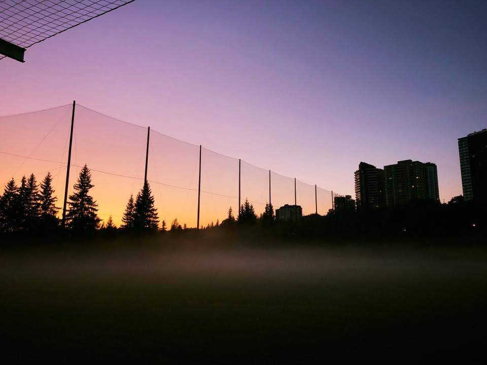 Driving Range Sunset