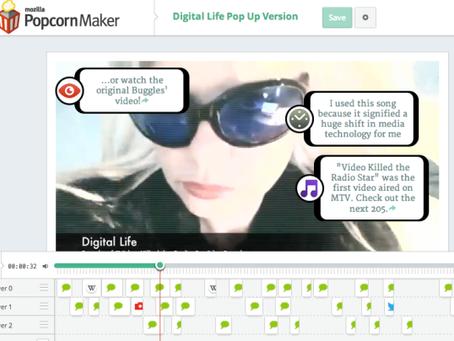 """Digital Life"": an augmented music video parody #edcmooc final artifact"