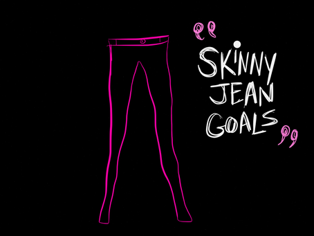 #rawthought: Skinny Jean Goals