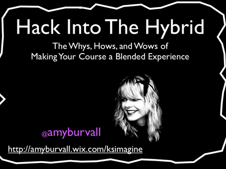 Hack Into the Hybrid: The Café , The Studio, and the Stage