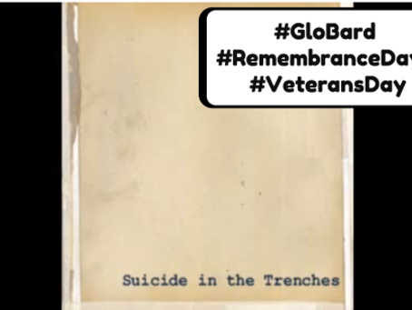 #GloBard : Remembrance /Veterans Day