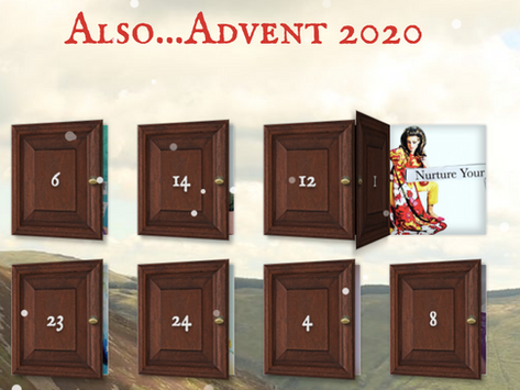 Also....Advent (an Alternative Advent Calendar, 2020)