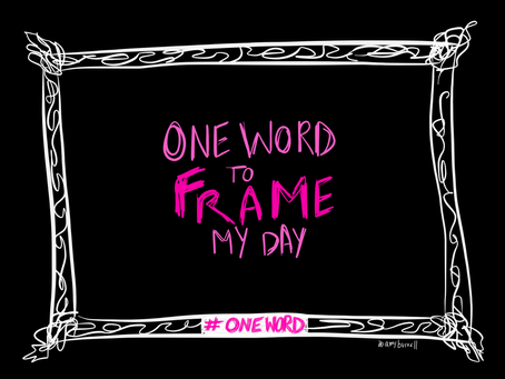 #oneword: An Esoteric Diary Reflection Meets Typography Practice