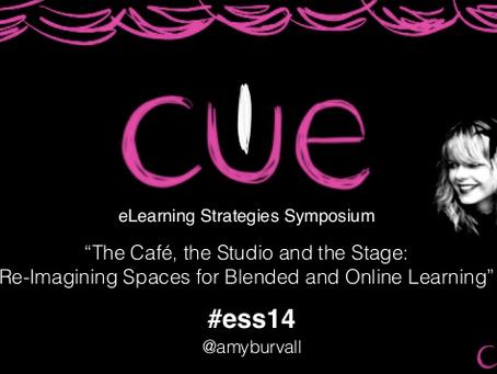 CUE E-Learning Symposium Strategies Keynote