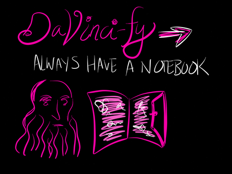 Learning from Artists Series 1: Da Vinci