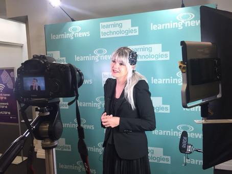 Intelligence Having Fun: Keynoting Learning Technologies Summer Forum 2018 in London