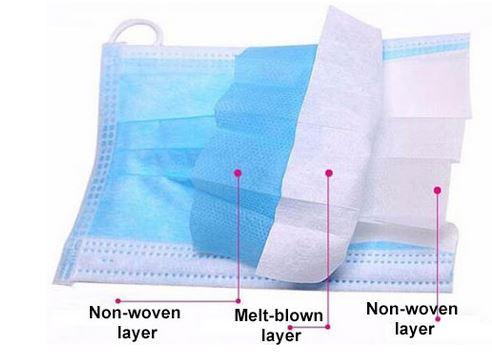 3-layer melt blown