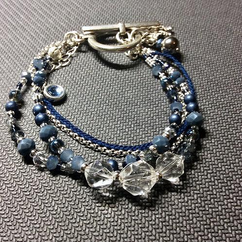 Wunderschönes Armband in blau