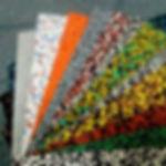 Брусчатка и плитка из резиновой крошки; резиновая плитка