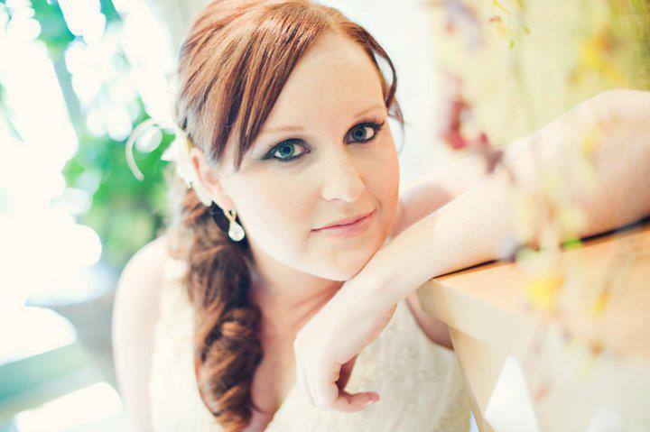 Bridal makeup in Sacramento