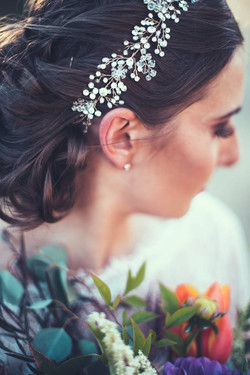 Bridal makeup in Chico