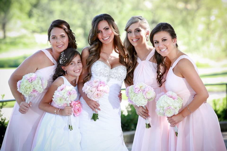 Bridal makeup in Auburn