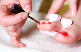 Pedicure for feet nails in Braintree Essex