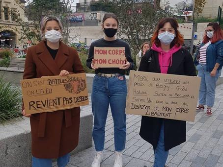• ITW • Élodie du groupe d'action féministe de Rouen