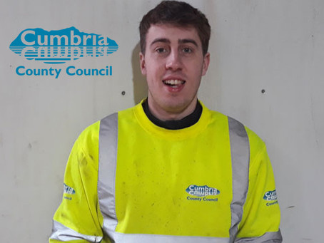 Cumbria County Council bring nine apprentices into highways team