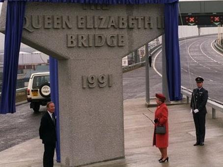 The Queen Elizabeth II bridge at Dartford celebrates 30 years of connecting Essex and Kent