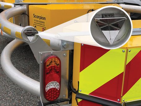 Acklea and Moshon Data team up to improve highway safety with RadViz radar reflector
