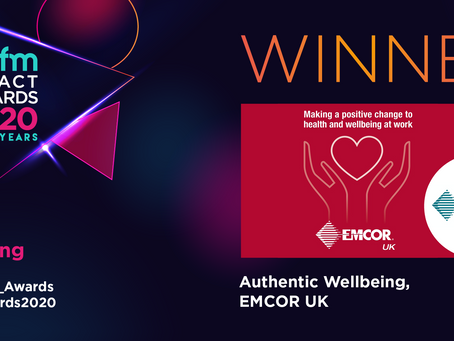 What Makes EMCOR's Award-winning Wellbeing Strategy Work