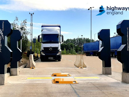 Highways England trials cutting edge technology to improve tyre safety
