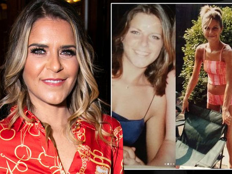 Gemma Oaten shares shocking photo taken at the height of her anorexia battle aged 19