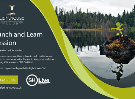 Just 3 hours to register for Safer Highways Lunch and Learn Session on 'Resilience'