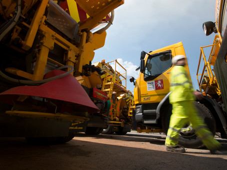 Amey's data led approach to improve Kent's gritting efficiency by 18%